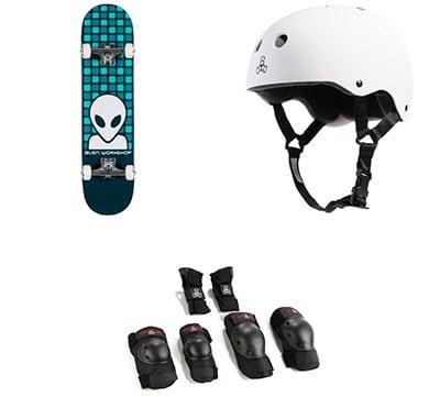 Alien Workshop Matrix Blue Complete 7.75 Skateboard kit