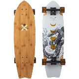Arbor Sizzler Bamboo Longboard Complete