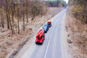 kayaks on cars